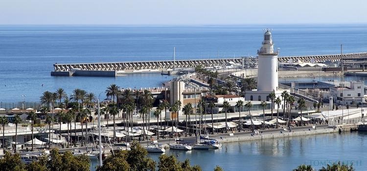 Malaga fishing zone