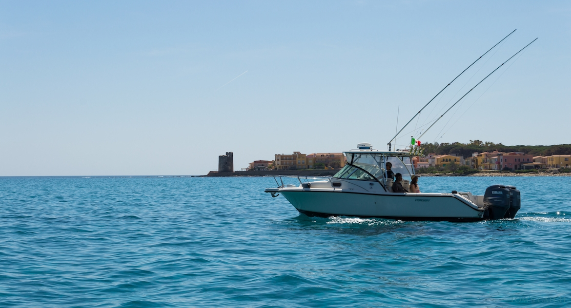Sardinia fishing zone