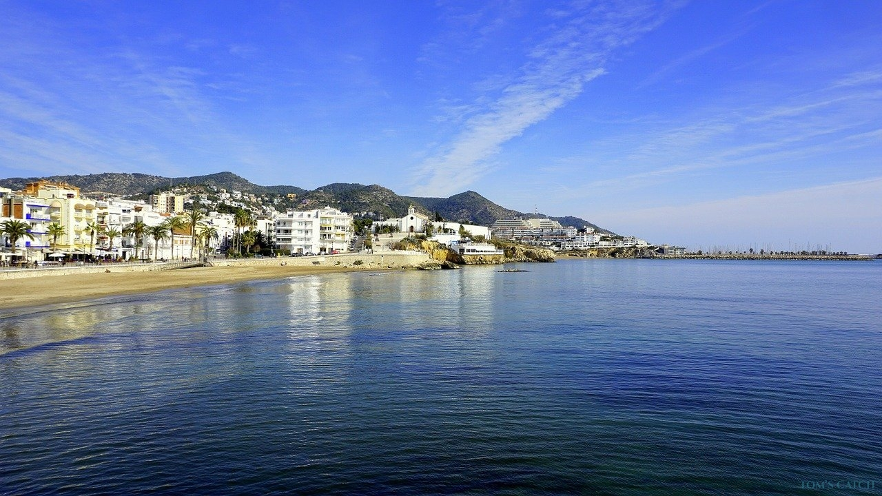 Sitges fishing zone