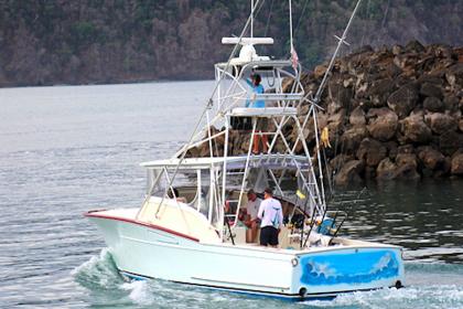 Charter de pêche 36 Custom Marcam