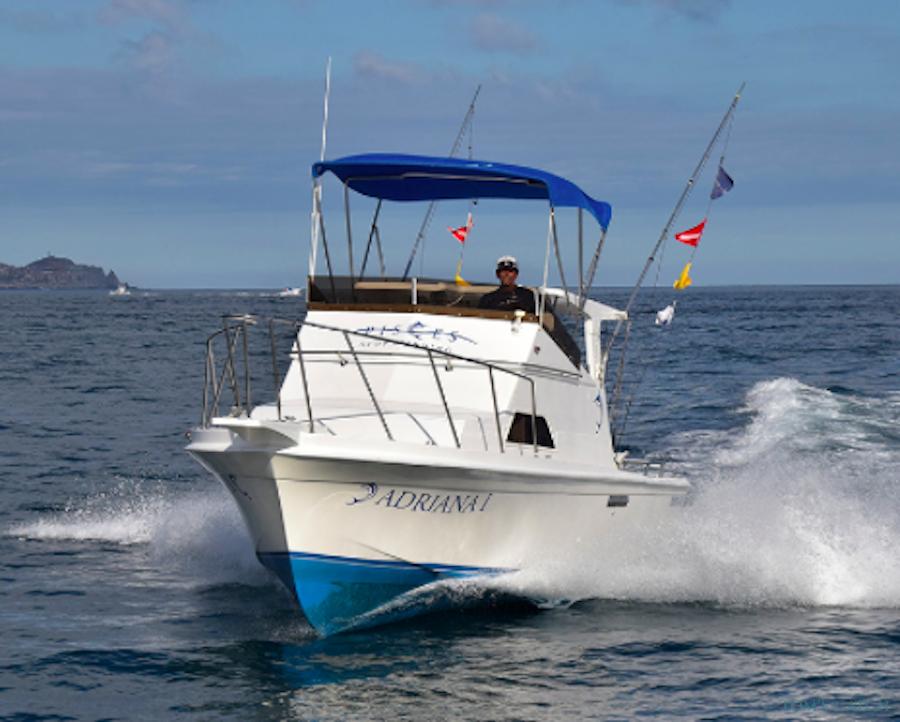 Charter de pêche Adriana