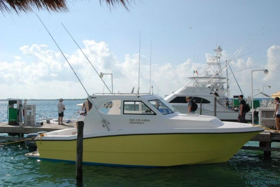 Charter de pêche Andrea M