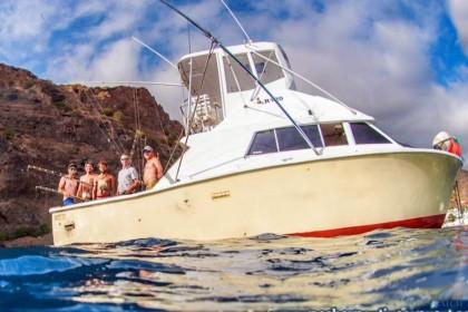 Charter de pêche Bertram 33
