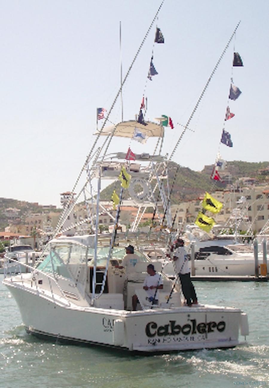 Charter de pêche Cabolero