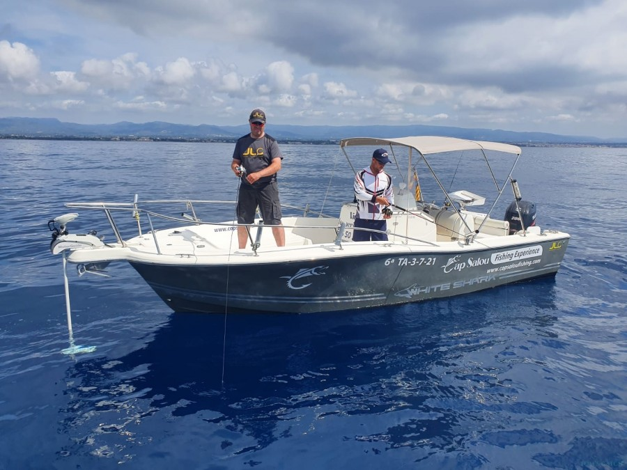 Charter de pêche Cap Salou Fishing