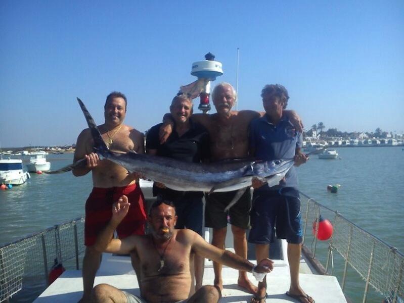Charter de pêche Chipiona Charter