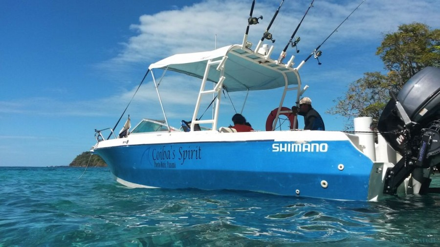 Charter de pêche Coiba's Spirit