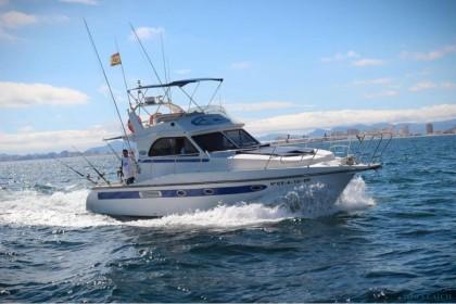 Charter de pêche Cruz II La Manga
