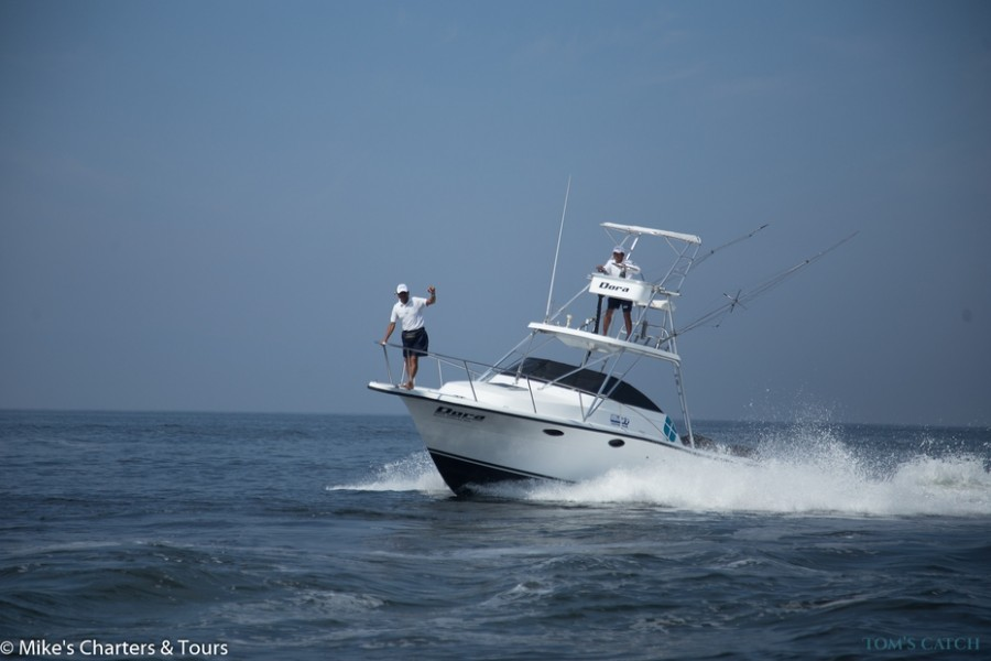 Charter de pêche Dora