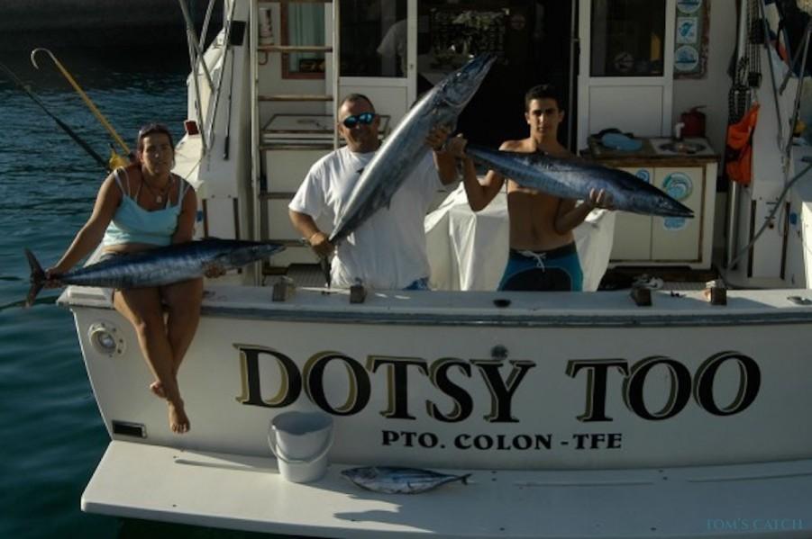 Charter de pêche Dotsy Too