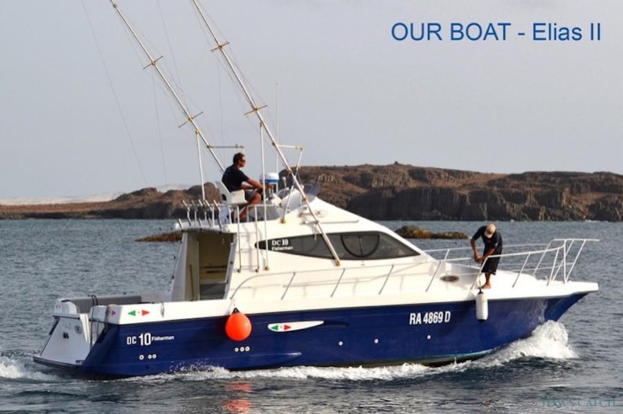 Charter de pêche Elias I