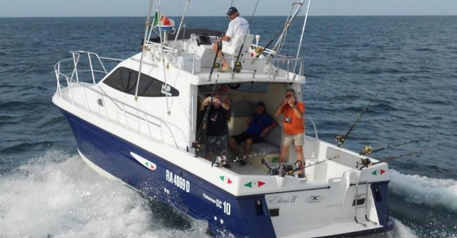 Charter de pêche Elias II