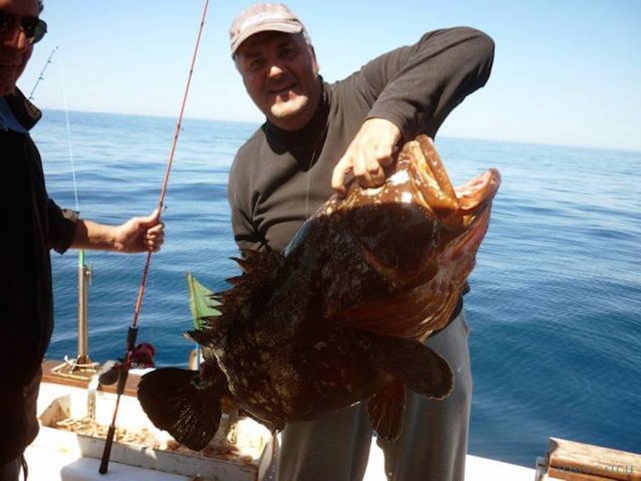 Charter de pêche Freccia delle Egadi