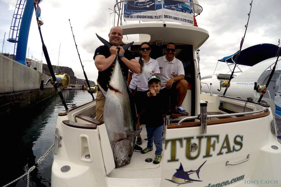 Charter de pêche Gatufas