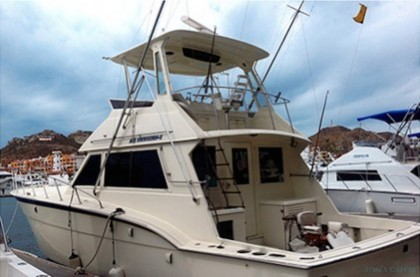 Hatteras 45 FT Baja California Sur pêche