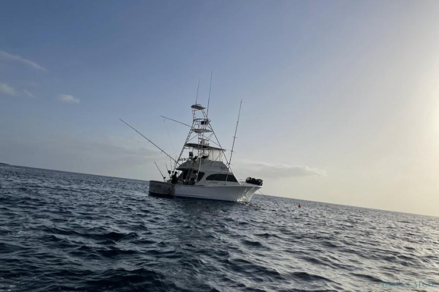 Charter de pêche Hooker