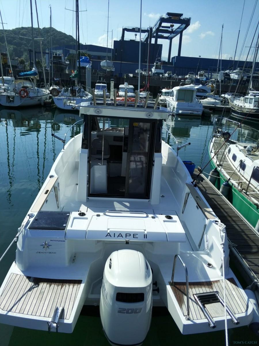 Charter de pêche Jeanneau Marruecos Fisher Marlin