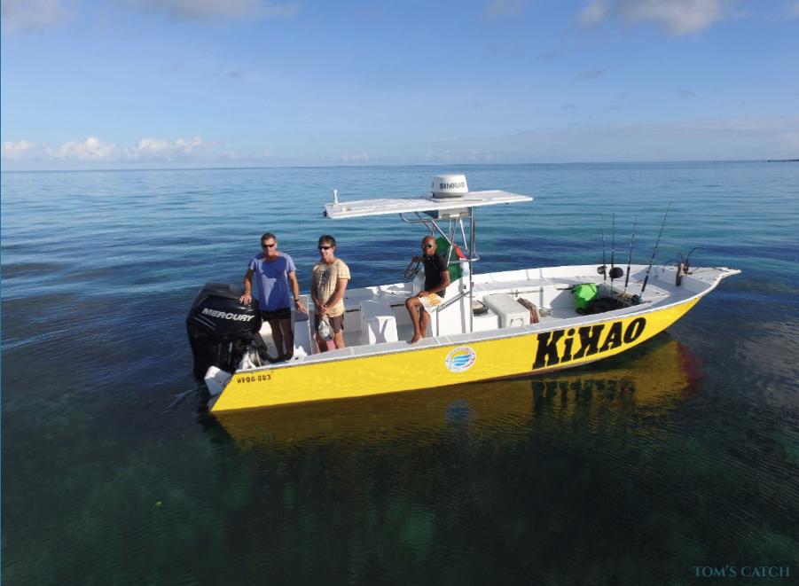 Charter de pêche Kikao