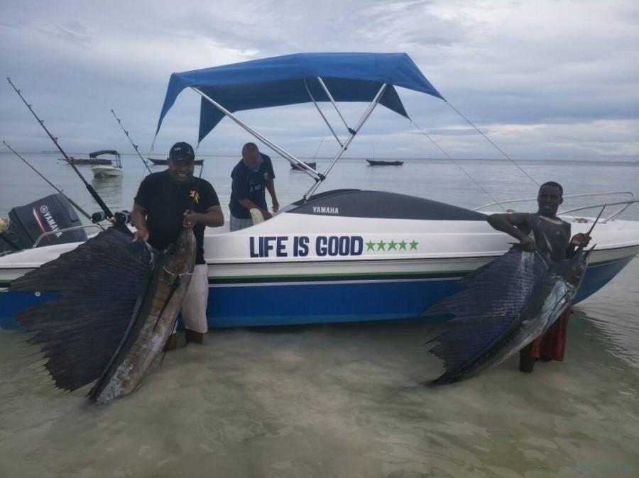 Charter de pêche Life is Good I