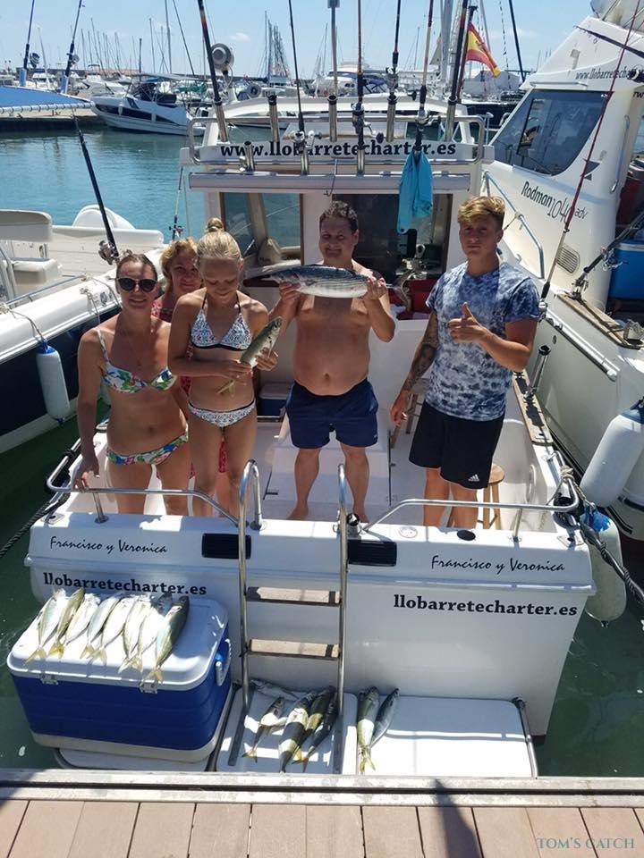 Charter de pêche Llobarrete I