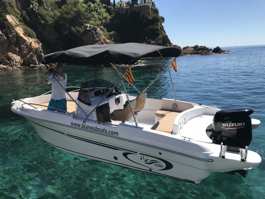 Charter de pêche Lluna2