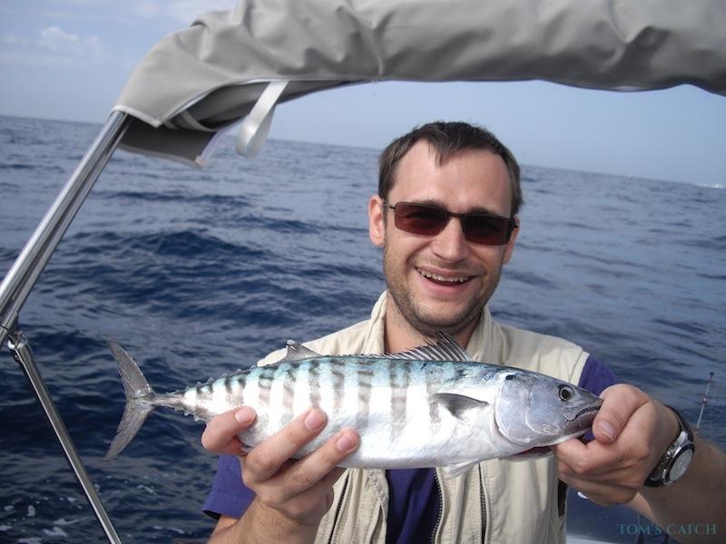 Charter de pêche Maria del Mar