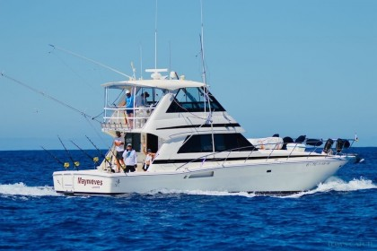 Charter de pêche Maynieves