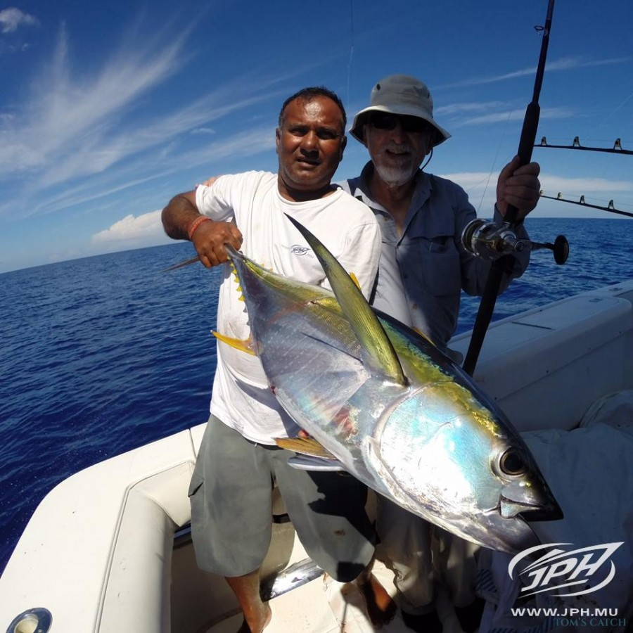 Charter de pêche Moana 3