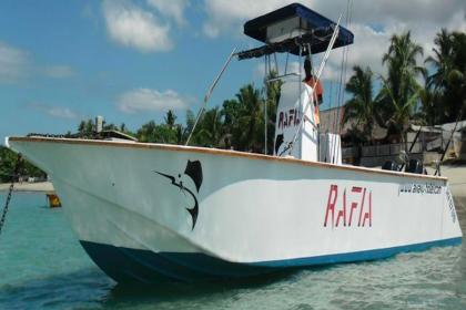 Charter de pêche Rafia