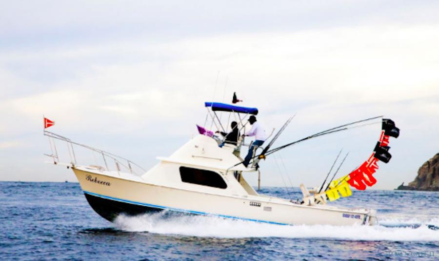 Charter de pêche Rebecca