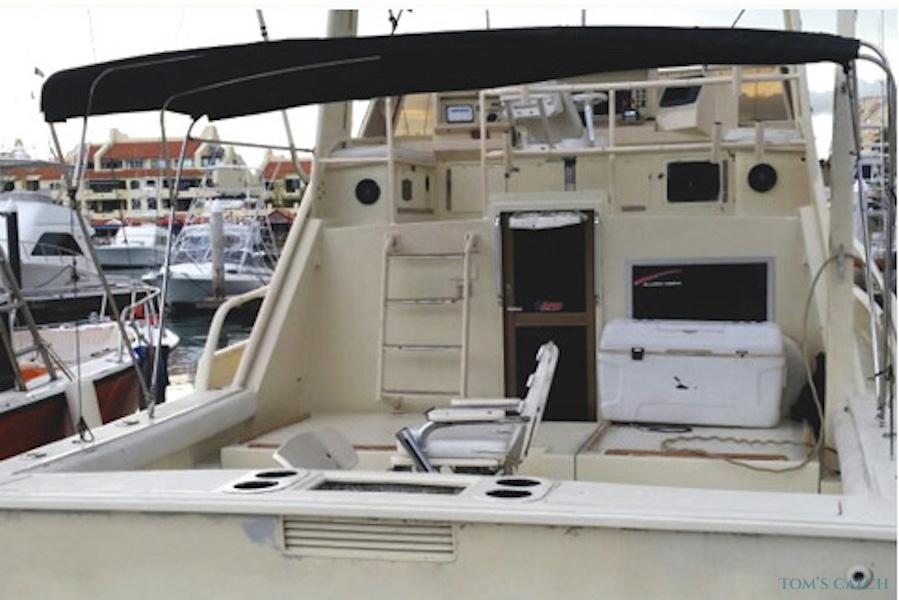Charter de pêche Reel 38