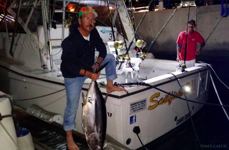 Charter de pêche Sailfisher2