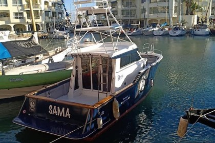 Charter de pêche Sama