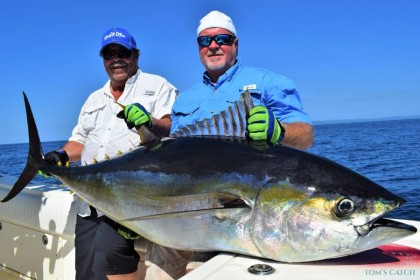 Charter de pêche Scandalous