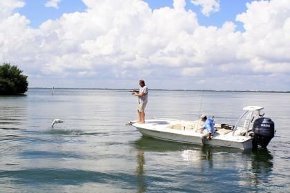 Scout Cancun pêche