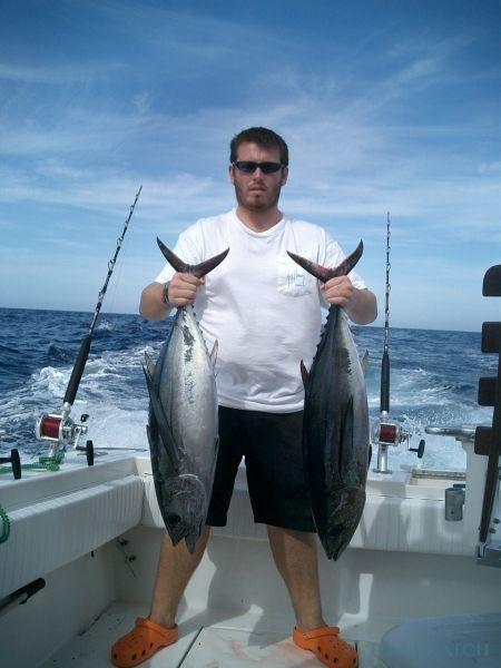 Charter de pêche Sea Ray