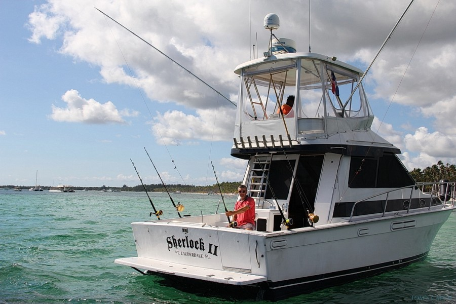 Charter de pêche Sherlock II