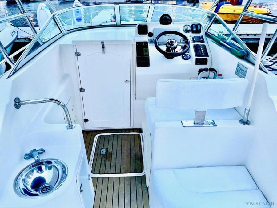 Charter de pêche Silvercraft D35