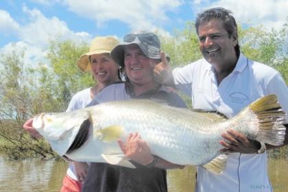 Spring Tide Safaris Australie pêche