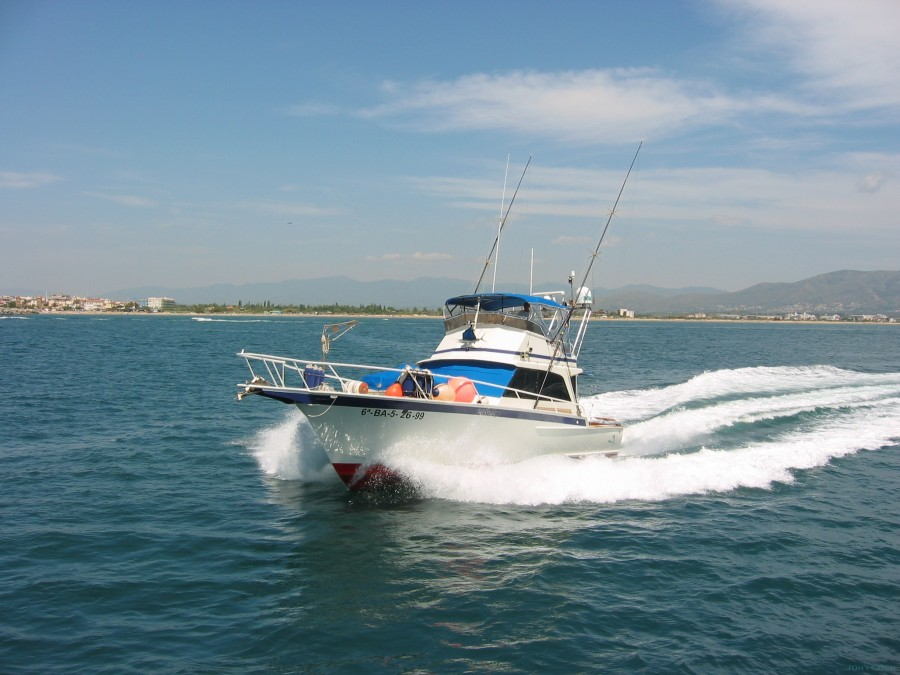 Charter de pêche Striker 44