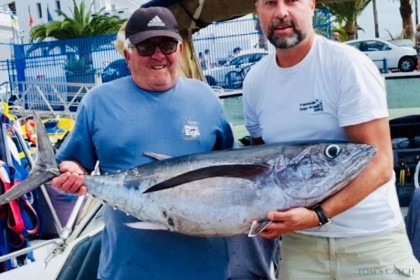 White Tuna Tenerife pêche