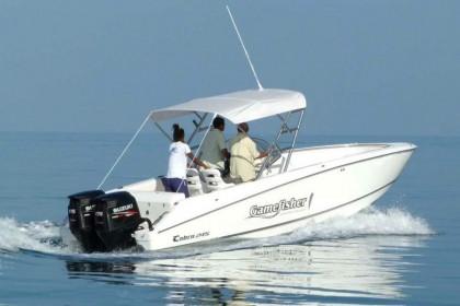 26 feet Sport Fisher Mauritius vissen
