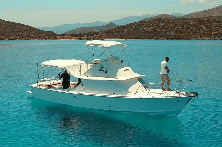 Bertram 31ft Fishing Mirabello Bay  vissen