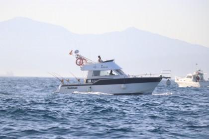 Cayman III Straat van Gibraltar vissen