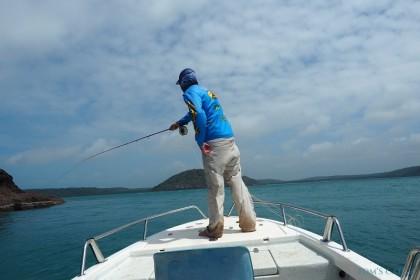 CY Fishing Charters   Queensland vissen