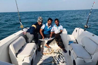 D3-7 Dubai vissen