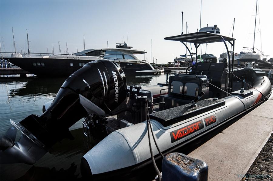 Gommone 850  vissen