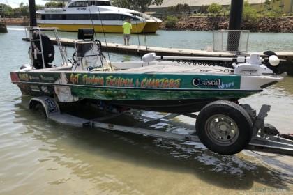 G&T Fishing School & Charters Queensland vissen