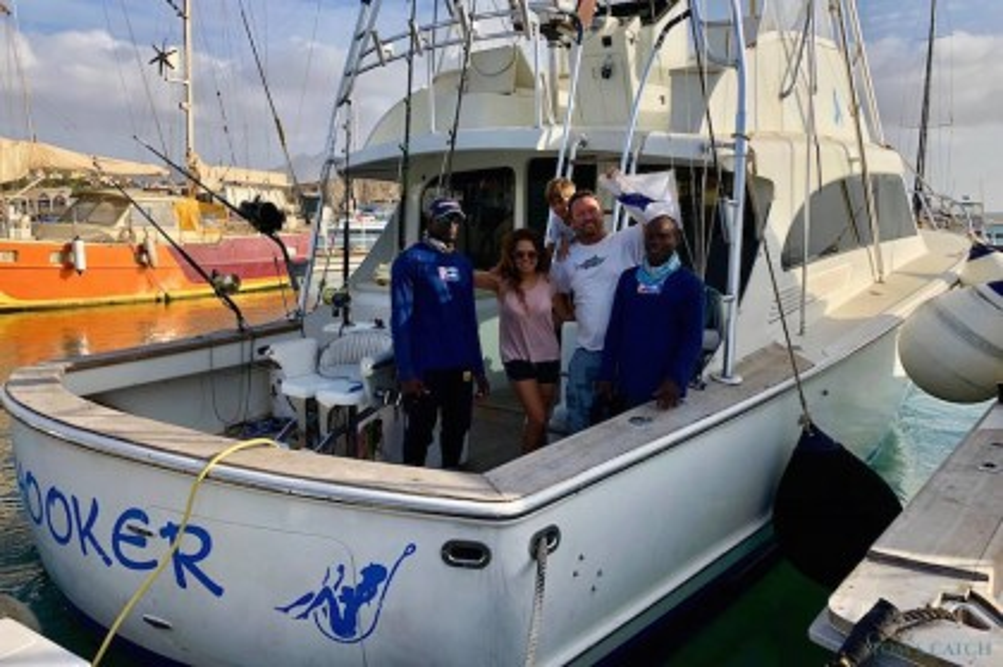 Hooker Kaapverdië vissen