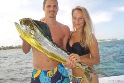 Lizange Dominicaanse Republiek vissen